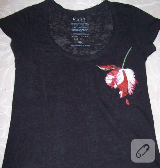 T-shirt Boyama