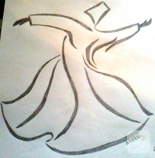 Komik Fipixde Karakalem Manzara çizim örnekleri