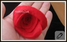 Kırmızı-Siyah Kumaş Çanta 3