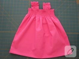 Bebişlere Yazlık Bir Elbise