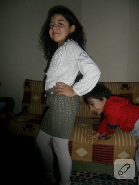 kız çocukları için etek dikişi