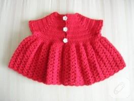 Kırmızı Bebek Yeleği