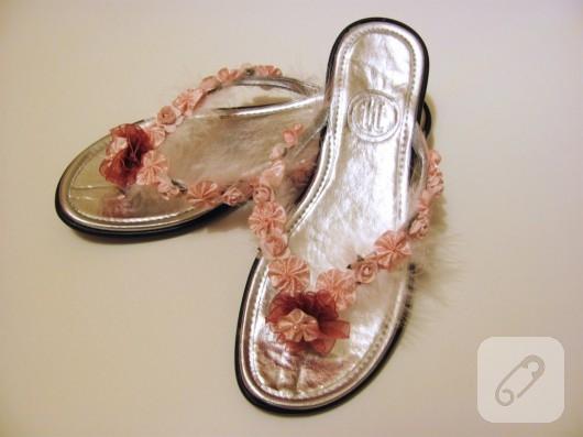 sandalet süsleme