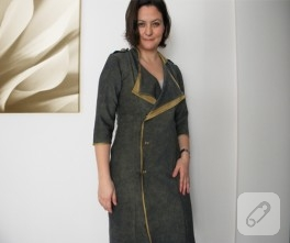 Trençkot Elbise