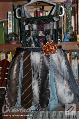 Eski Kravatlardan Elbise