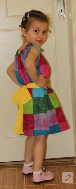 Kızıma Yazlık Elbise