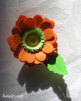 Kağıt Kıvırma Çiçeklerim