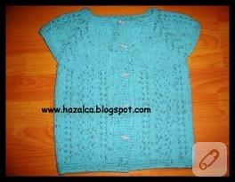 Maviş Bebek Yeleği
