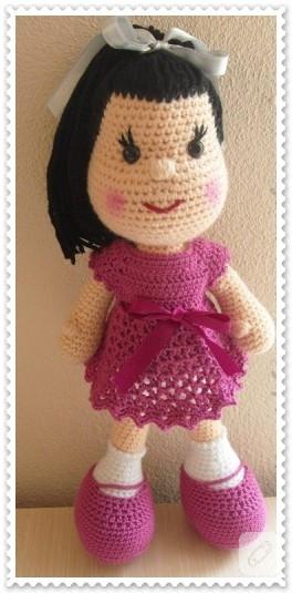 Amigurumi Oyuncak Bebek (Doll)