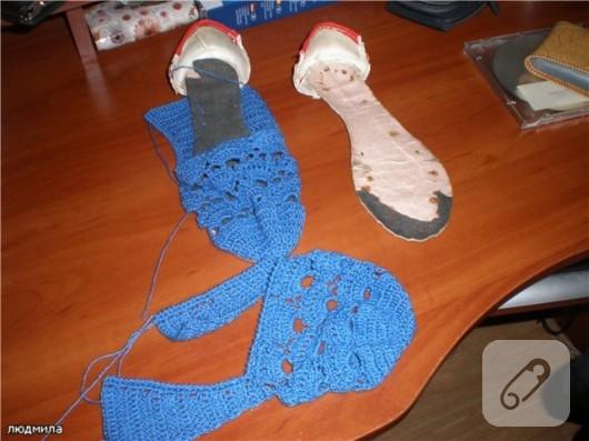 Yazlık Örgü Ayakkabı