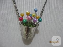 Ornitorenk Handmade'in Yüksük Kolyesi