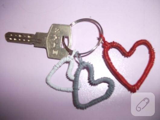 kalpli anahtarlık