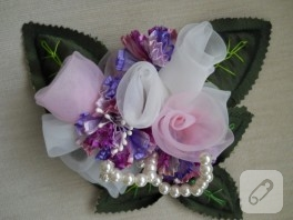 Lavanta Dolgulu Dekoratif Çiçekler