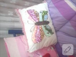 Kelebek yastık