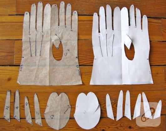 deri eldiven yapımı