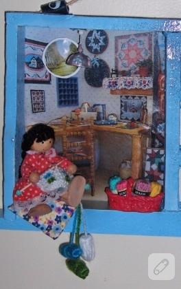 Fiamma'nın Minyatür Hobi Odası Çalışması
