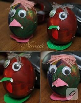 Yumurta Boyama (Renkli Yumurtalar)