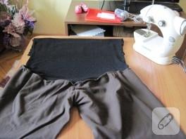 Hamile Pantolonu Dönüşümü