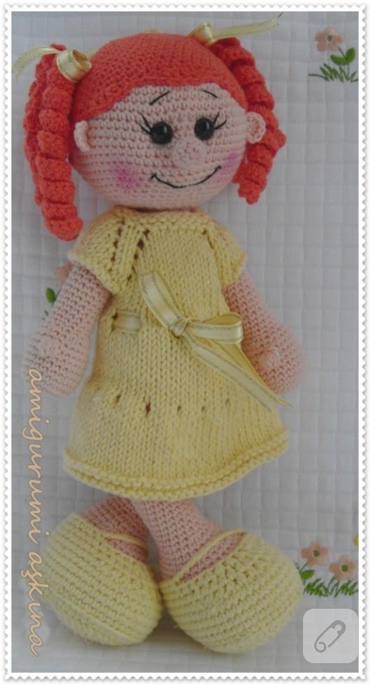 Pin Amigurumi Lola Doll on Pinterest