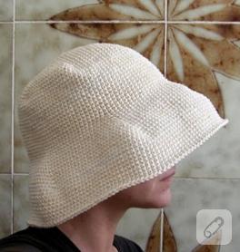 Sık Örgülü Şık Şapka