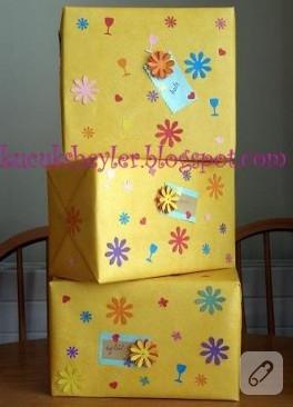 hediye paketi hazırlama