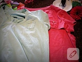 eski tişörtlerden….