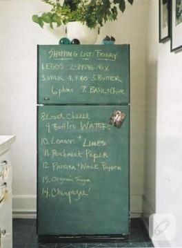 buzdolabından yazı tahtası