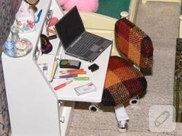 Minyatur ofis sandalyesi yapiyoruz