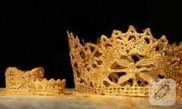 Prenseslere ve prenslere taçlar