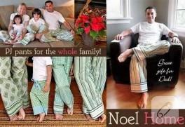 ailecek pijama dikimi