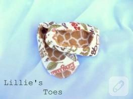 bebek ayakkabısı dikimi