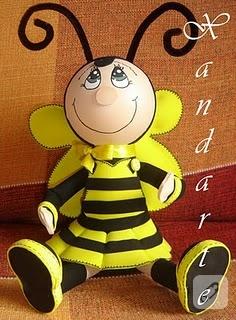 …arı ve uğur böceği…