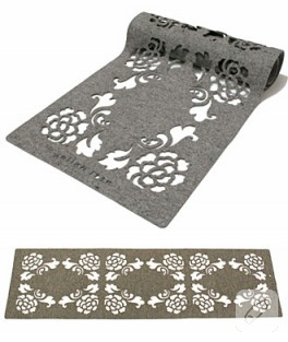 keçe table runner,halı,stor….