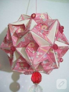 origami çiçekler