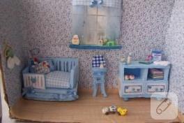 Bebek Odası Minyatürü Yaptım:))