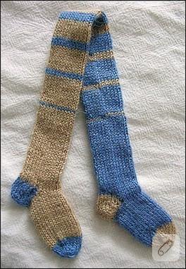 Bu çoraplarda bi gariplik var ama ne?