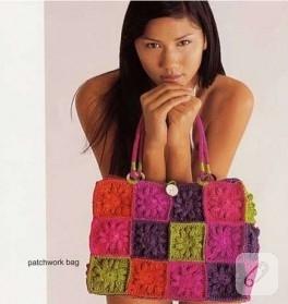 Birbirinden güzel örgü çanta modelleri