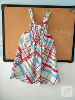 Kızıma Lastikli Elbise.