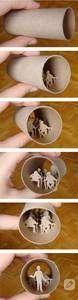 tuvalet kağıdı rulolarından