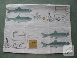 havludan cüzdan yapımı