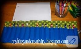 Pratik pastel boya çantası