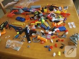çocukların eski oyuncaklarından