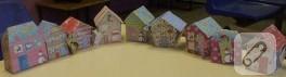 Kağıttan Oyuncak Ev/Hediye Kutusu/Takı Kutusu