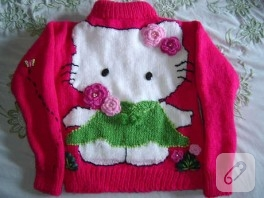 hello kitty hırka