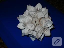 Kusudama Çiçeği Yapımı