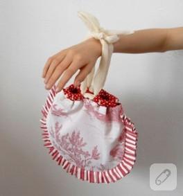 Şeker bir el çantası