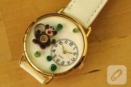 Quilling Saat Tasarımları
