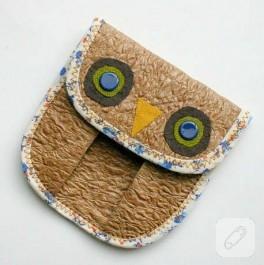 Baykuş Bozuk Para Cüzdanı
