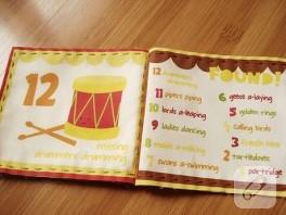 Çocuklar için kumaş kitap