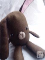 Kumaş Oyuncak: Tavşan